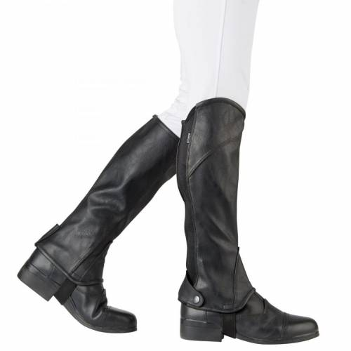 Dublin Stretch Fit Half Chaps - Black