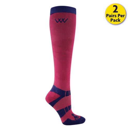 Woof Wear Winter Riding Socks - Shiraz