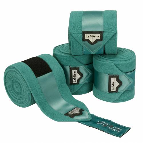 LeMieux Loire Fleece Polo Bandages - Sage