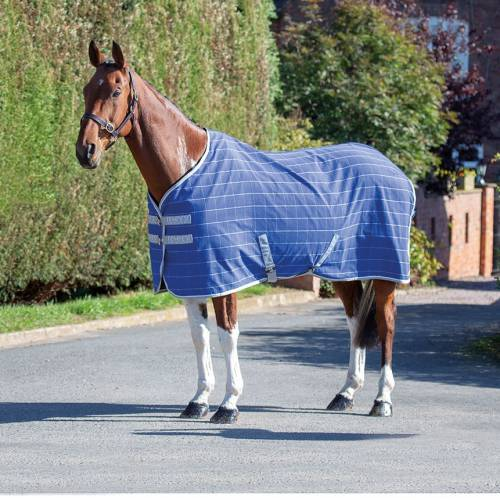 Shires Tempest Original Stable Sheet - Navy/Check