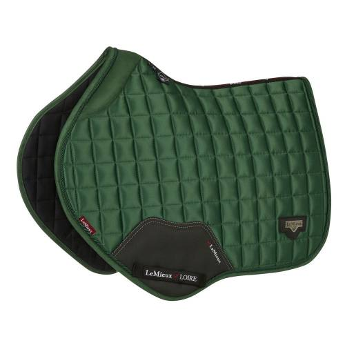 LeMieux Loire With Memory Foam Close Contact Square - Hunter Green