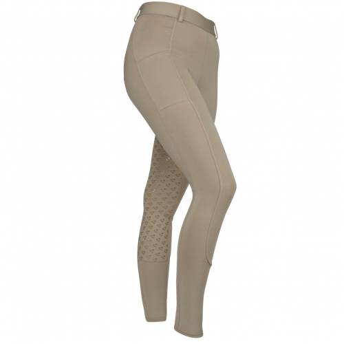 Shires Aubrion Maids Albany Riding Tights - Beige