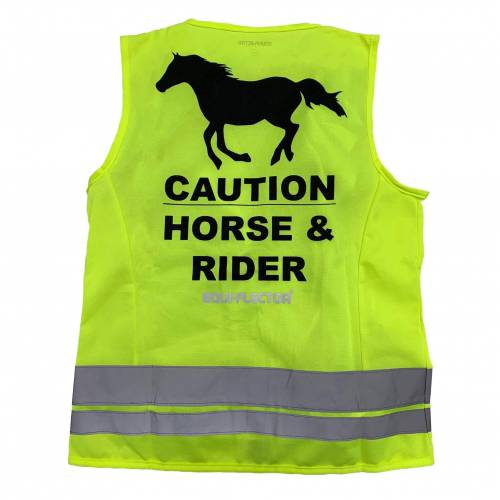 Equi-Flector Safety Vest - Yellow