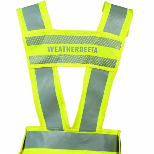 Weatherbeeta Reflective Adults Harness - Yellow