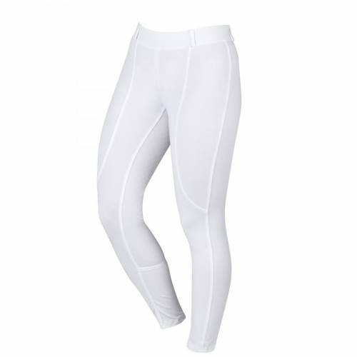 Dublin Performance Cool-It Childs Riding Tights - White