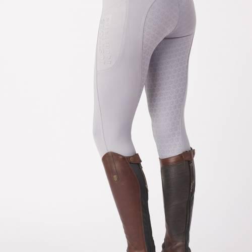 Just Togs Equinox Riding Tights - Grey