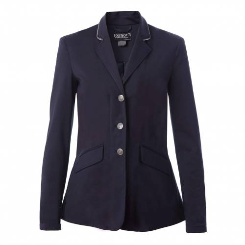 Equetech Jersey Deluxe Show Jacket - Navy