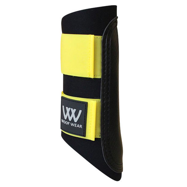 Woof Wear Colour Fusion Club Brushing Boots - Sunshine Yellow