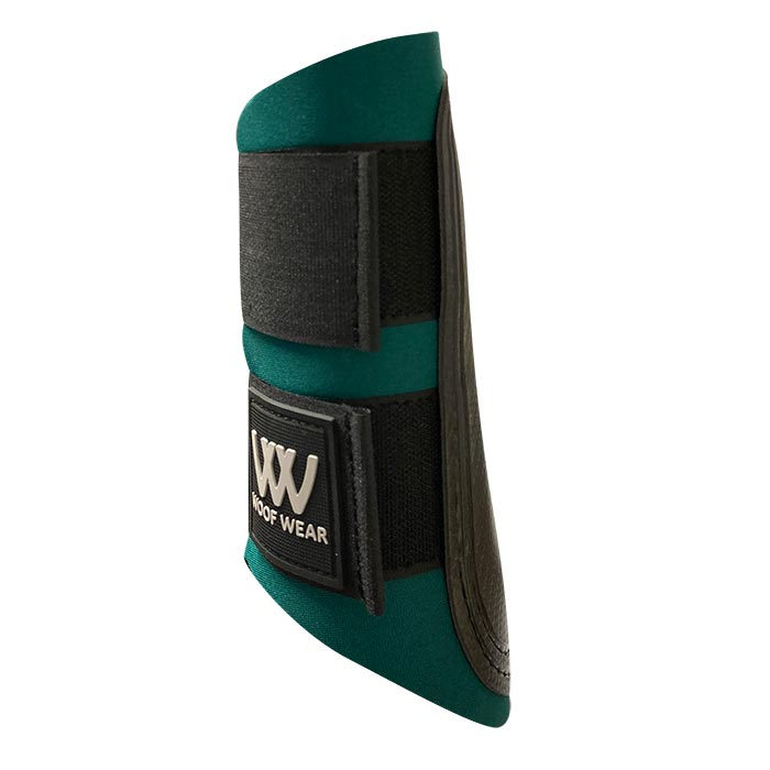 Woof Wear Colour Fusion Club Brushing Boots - British Racing Green