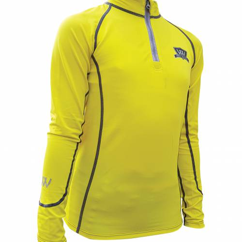Woof Wear Young Riders Base Layer - Sunshine Yellow
