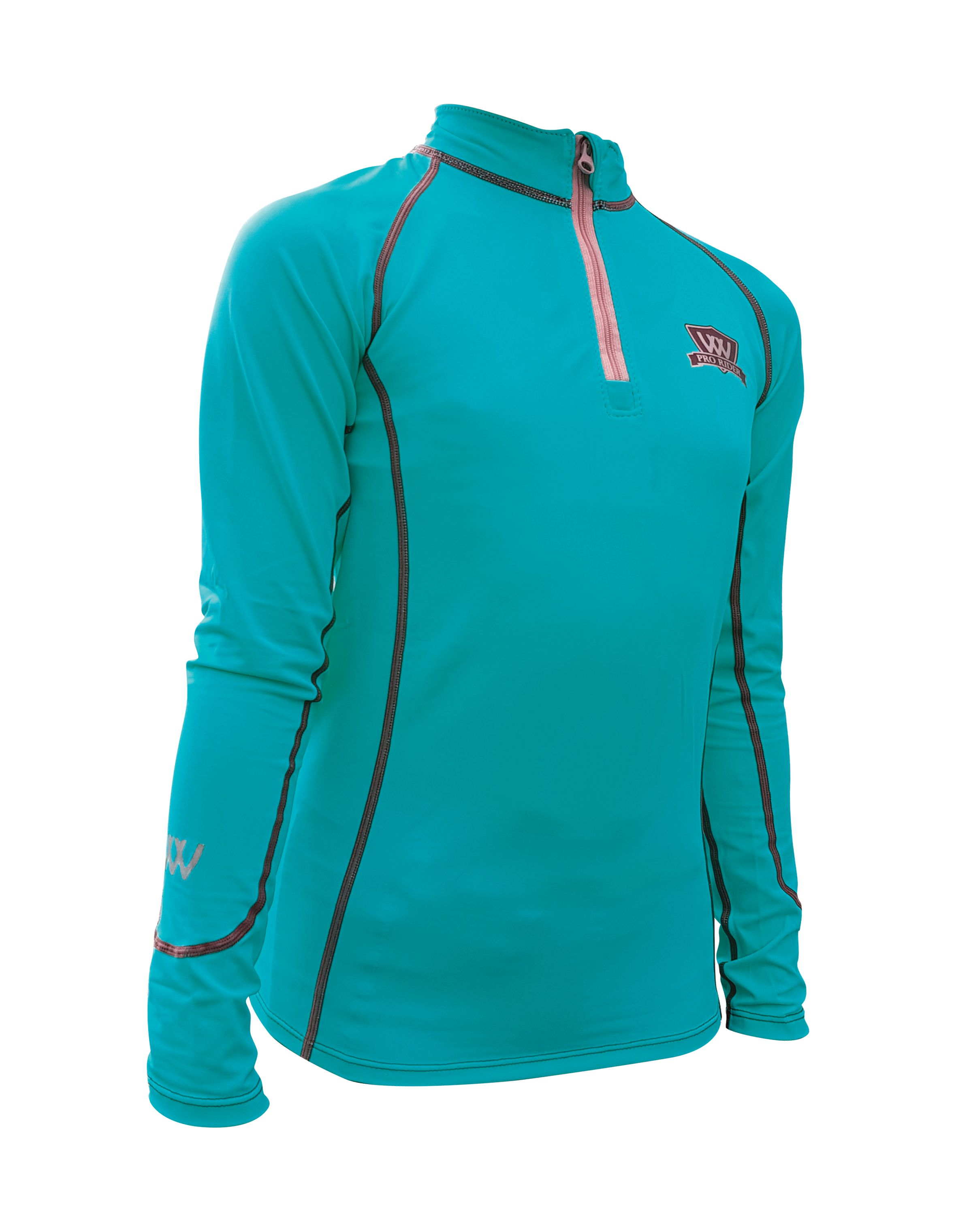 Woof Wear Young Riders Base Layer - Turquoise
