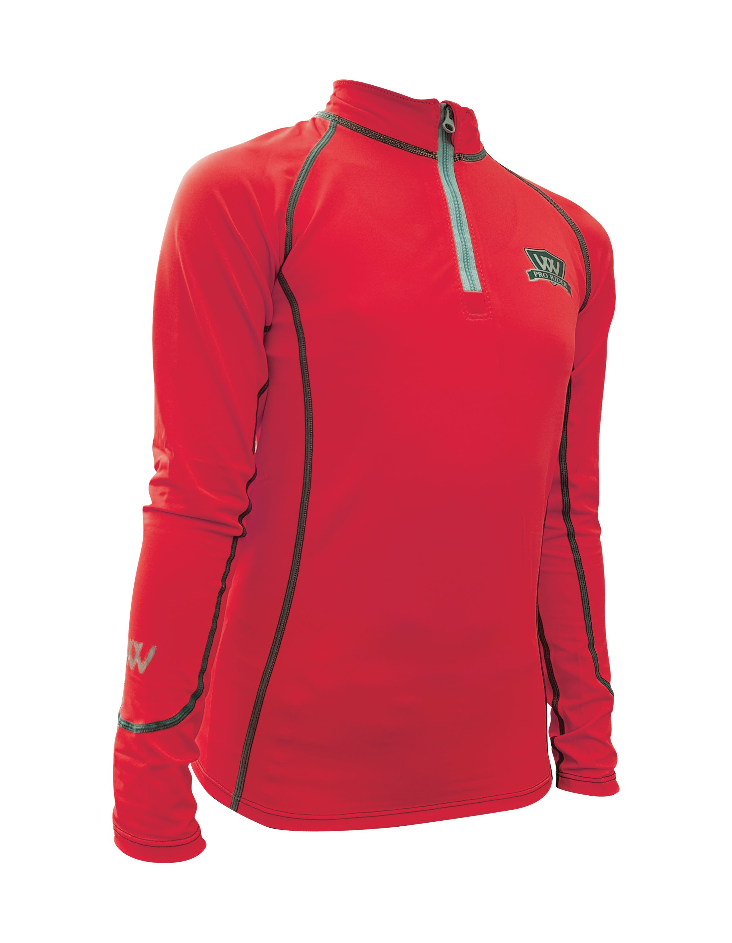 Woof Wear Young Riders Base Layer - Royal Red