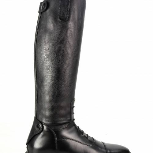Brogini Como Piccino Childrens Long Riding Boots - Black