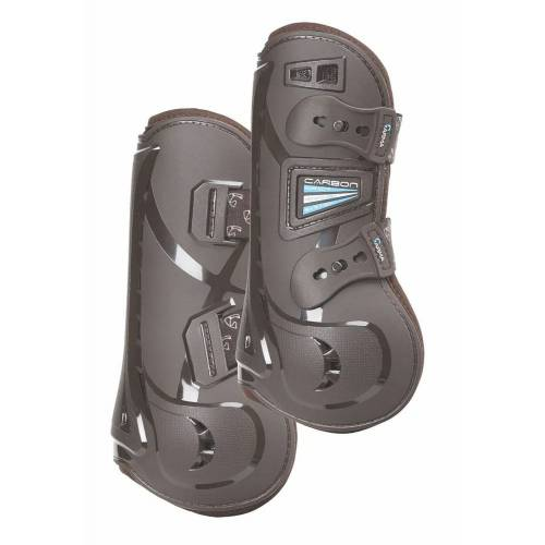 Shires Arma Carbon Tendon Boots - Brown