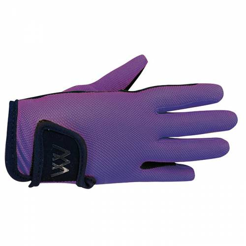 Woof Wear Young Riders Pro Glove - Ultra Violet