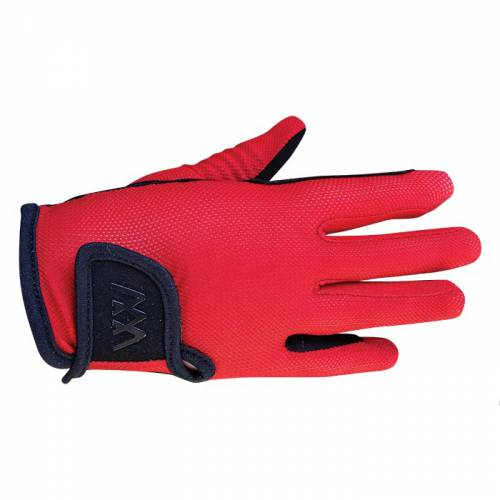 Woof Wear Young Riders Pro Glove - Royal Red