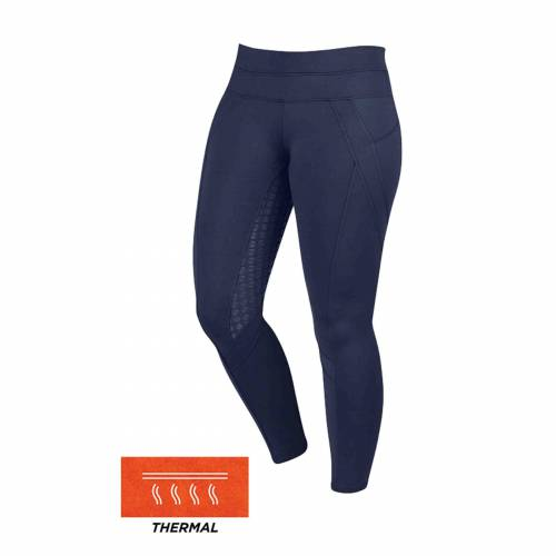 Dublin Performance Active Thermal Riding Tights - Navy