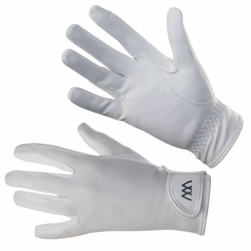 Woof Wear Connect Riding Gloves - White - 8.5