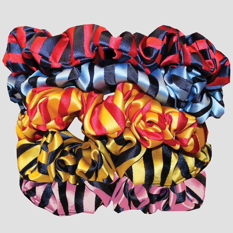 Equetech Broad Stripe Scrunchie