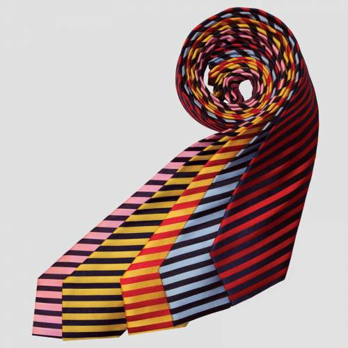 Equetech Broad Stripes Tie - Junior