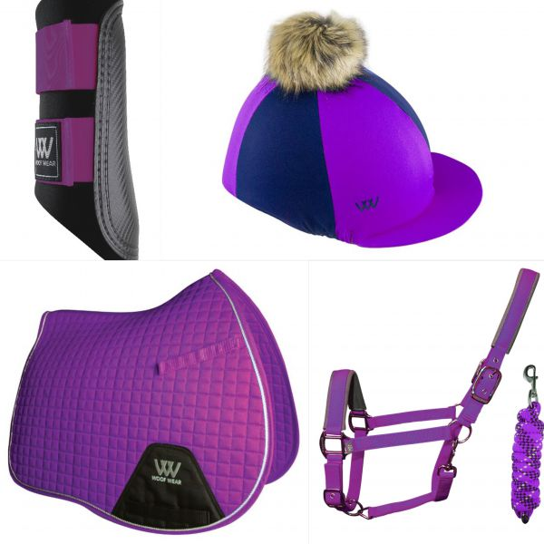 Woof Wear Pony Set - Ultra Violet