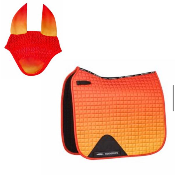 Weatherbeeta Ombre Dressage Set - Autumn Glow