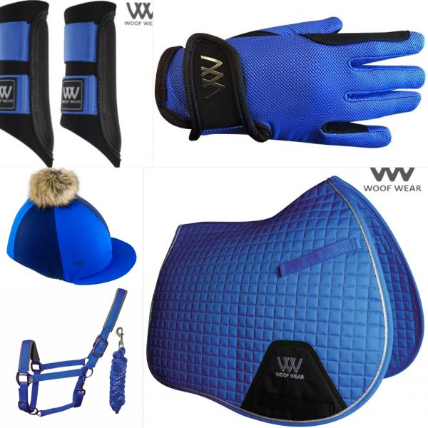 Woof Wear Young Riders Set - Electric Blue