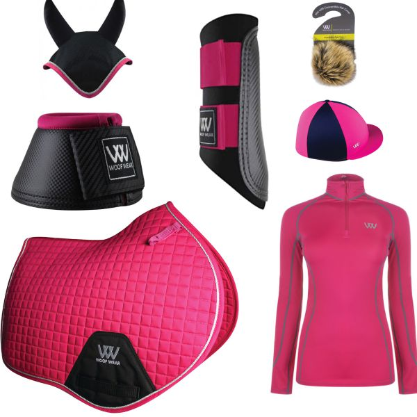 Woof Wear CC Set - Berry