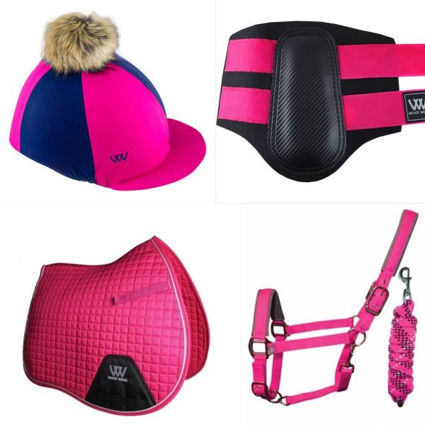 Woof Wear Pony Set - Berry