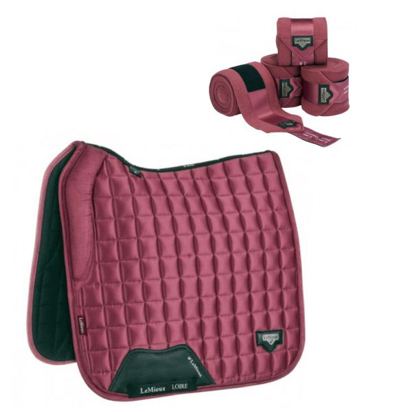 LeMieux Loire Dressage Set - French Rose