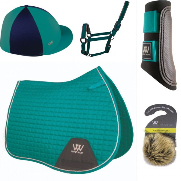 Woof Wear Pony Set - Ocean