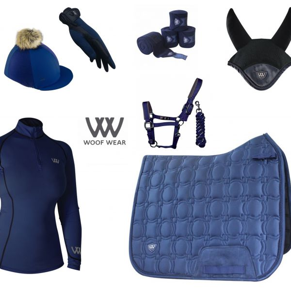 Woof Wear Vision Full Monty Dressage Set - Navy