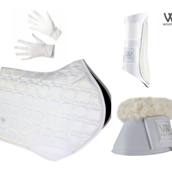 Woof Wear Vision Full Monty CC Set - White