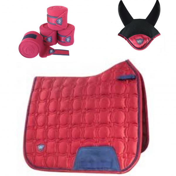 Woof Wear Vision Dressage Set - Shiraz