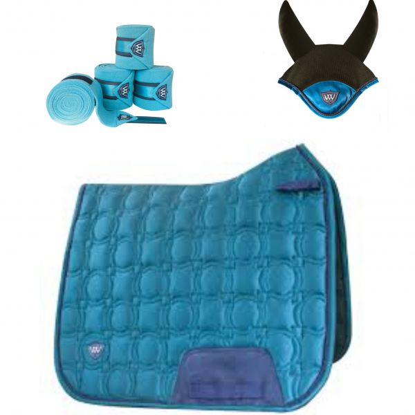 Woof Wear Vision Dressage Set - Ocean