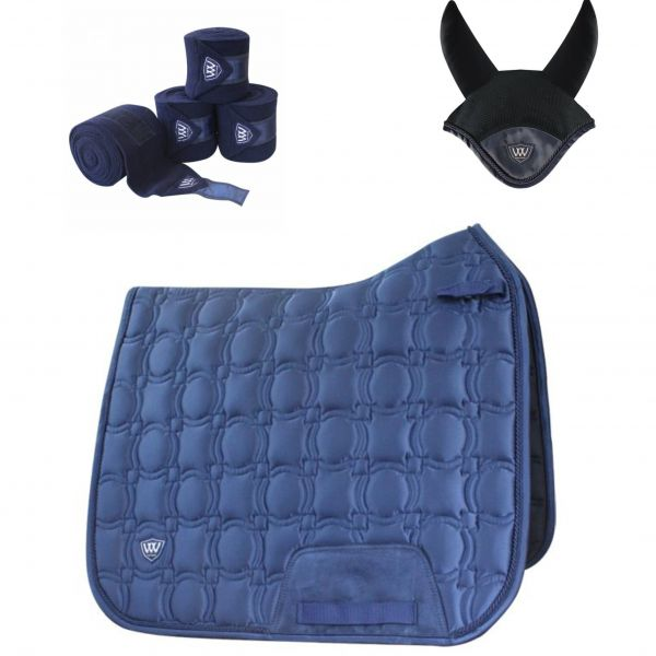 Woof Wear Vision Dressage Set - Navy