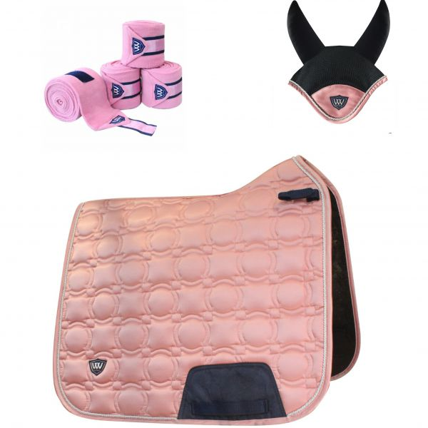 Woof Wear Vision Dressage Set - Rose Gold