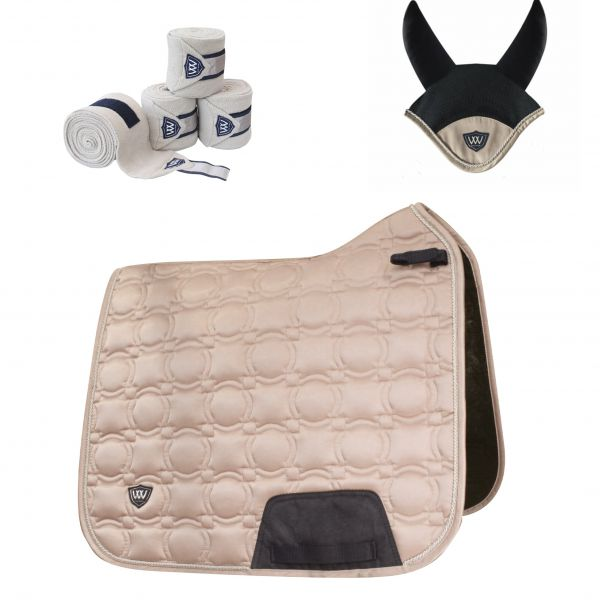 Woof Wear Vision Dressage Set - Champagne
