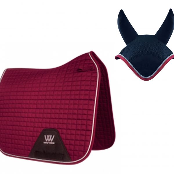 Woof Wear Dressage Set - Shiraz