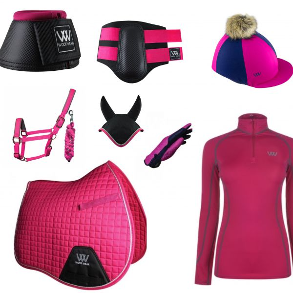 Woof Wear Full Monty GP Set - Berry
