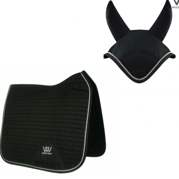Woof Wear Dressage Set - Black