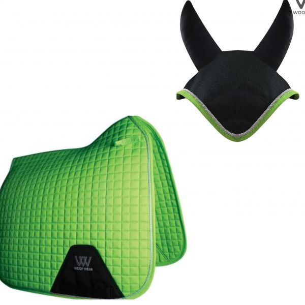 Woof Wear Dressage Set - Lime