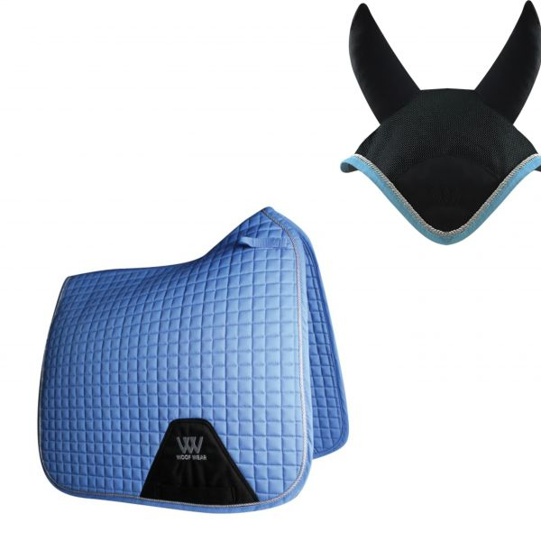 Woof Wear Dressage Set - Powder Blue