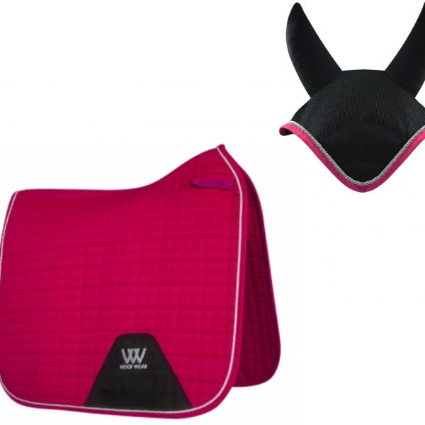 Woof Wear Dressage Set - Berry