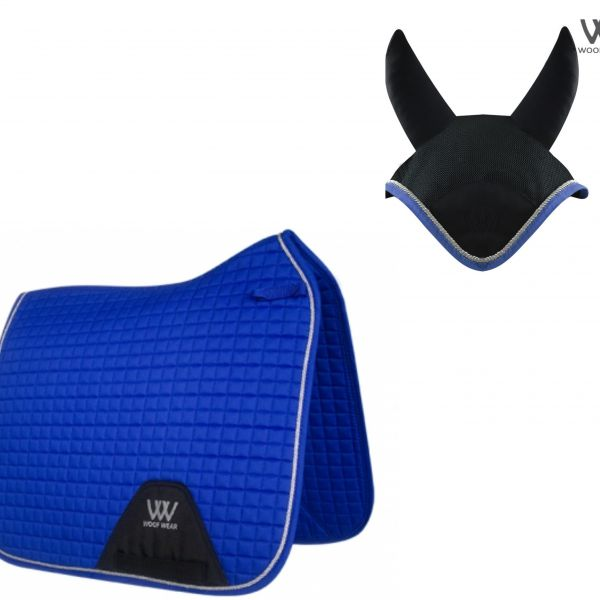 Woof Wear Dressage Set - Electric Blue