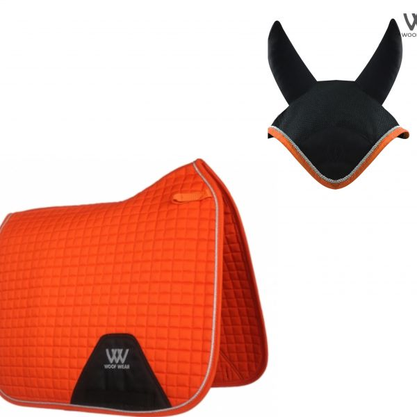 Woof Wear Dressage Set - Orange