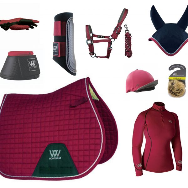 Woof Wear Full Monty GP Set - Shiraz