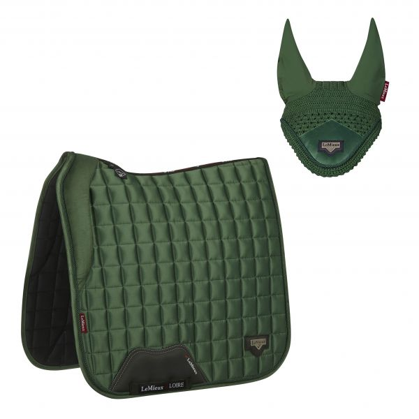 LeMieux Loire Dressage Set - Hunter Green