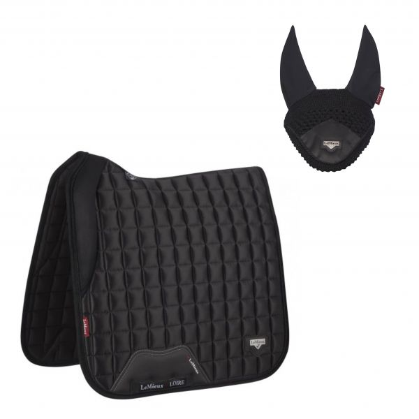 LeMieux Loire Dressage Set - Black