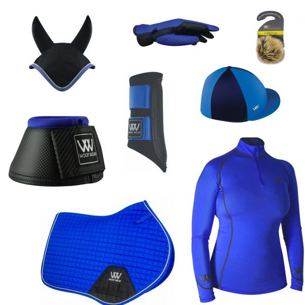 WOOF WEAR CC SET - ELECTRIC BLUE